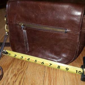TIGNANELLO brown leather crossbody bag